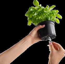 Саксия за билки Cobble trio с напоителна система