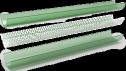 PVC градински маркуч с оплетка 300L