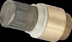 Възвратен клапан с филтър пластмасов диск