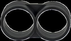 Двойна скоба за многосезонен капков маркуч