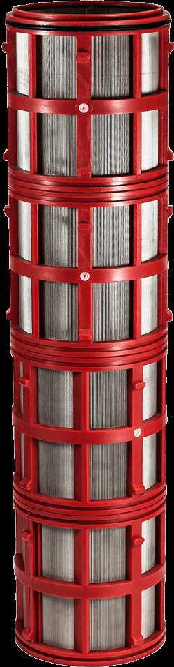 Мрежеста касета за хидроциклонен филтър