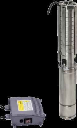Сондажна водна помпа Hydro-S 4SPD с неръждаема турбина