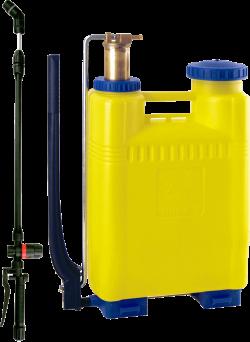 Гръбна пръскачка с регулатор за налягане и месингово бутало DiMartino Miura 16