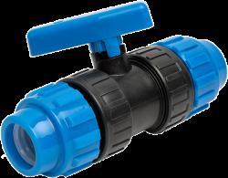 Сферичен кран PVC бърза връзка/бърза връзка