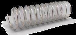 Огнеустойчив полиуретанов маркуч с метална спирала VULCANO AS-UL94