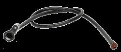 PVC микротръба с женска основа за разпръсквач
