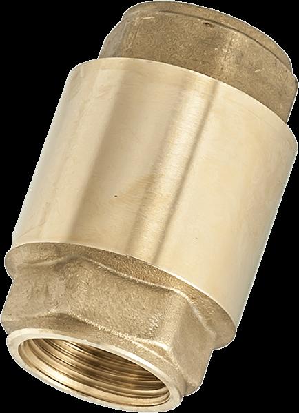 Пружинен възвратен клапан с метален диск