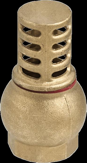 Възвратен клапан с месингова решетка