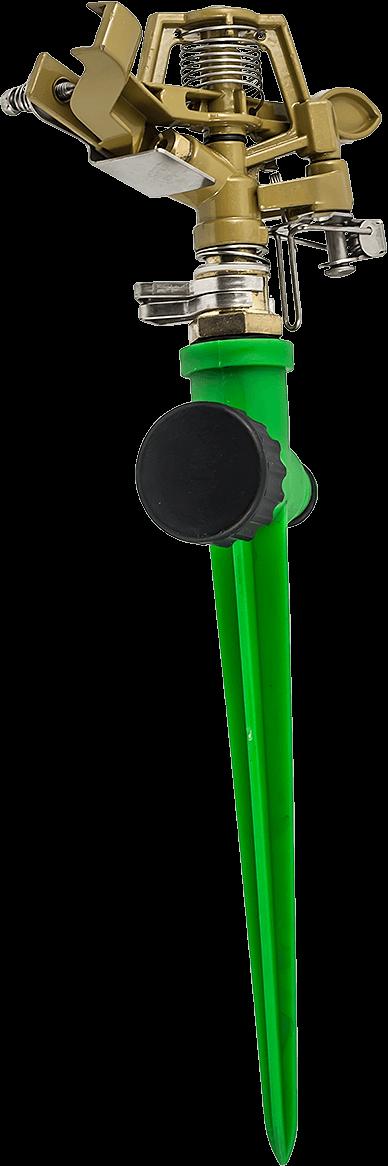 Месингов разпръсквач на PVC държач за напояване