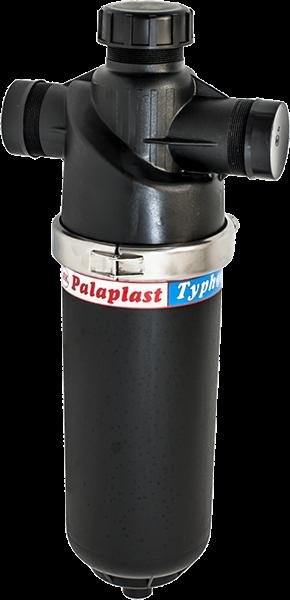 Дисков филтър Typhoon-хидроциклонен ефект, регулируем