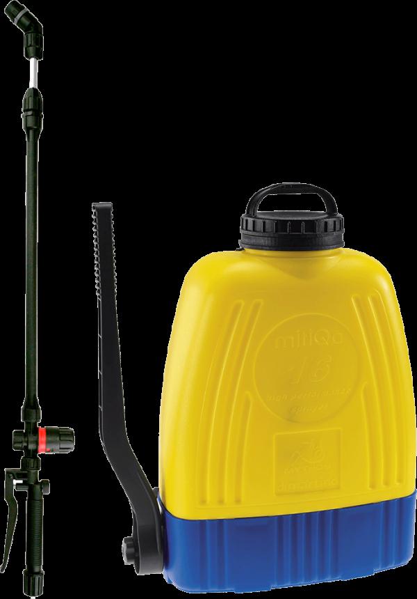 Гръбна пръскачка с регулатор за налягане и вграден клапан DiMartino Mitiqa