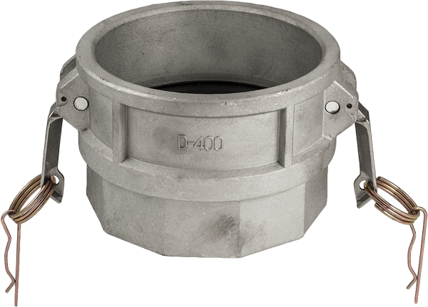 Адаптор за камлок връзка вътрешна резба тип D алуминиев