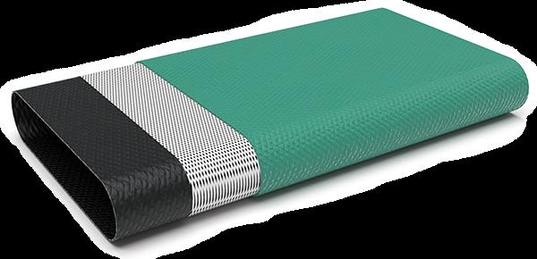 Двуслоен PVC плосък маркуч 204N