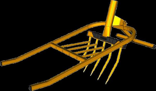 Градинска вилица Soil ripper-pitchfork
