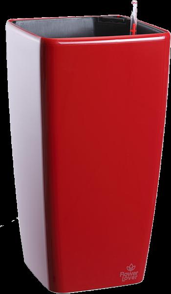 Саксия Quadrato tall 22 с патентована напоителна система и дренаж